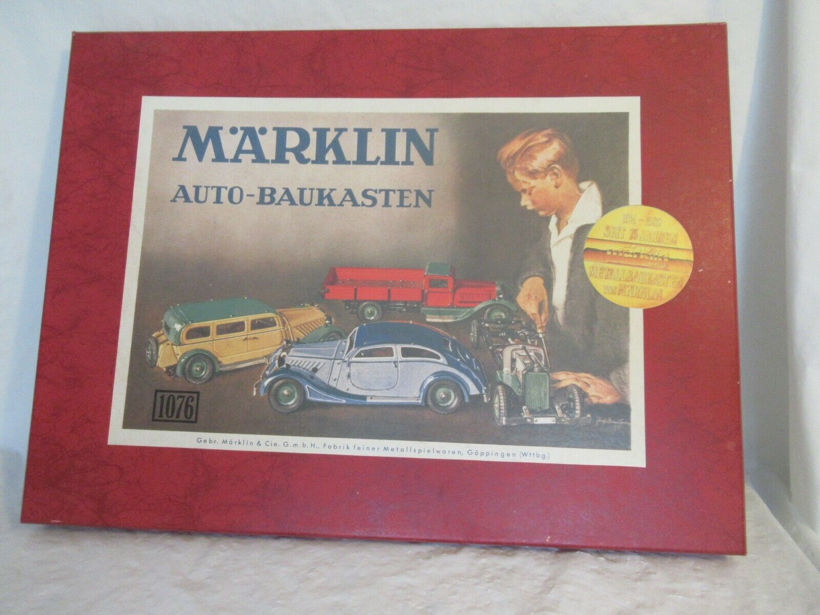 MARKLIN AUTO-BAUKASTEN (KIT) MERCEDES-BENZ RENNWAGEN 1133 No. 1076