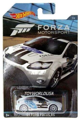 2017 Hot Wheels Forza Motorsport #1 2009 Ford Focus RS