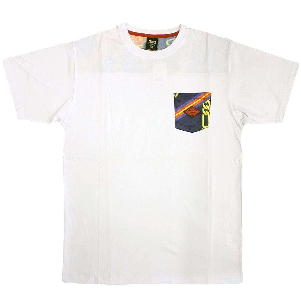 Crooks & Castles Regalia T-Shirt Weiß Navy Multi