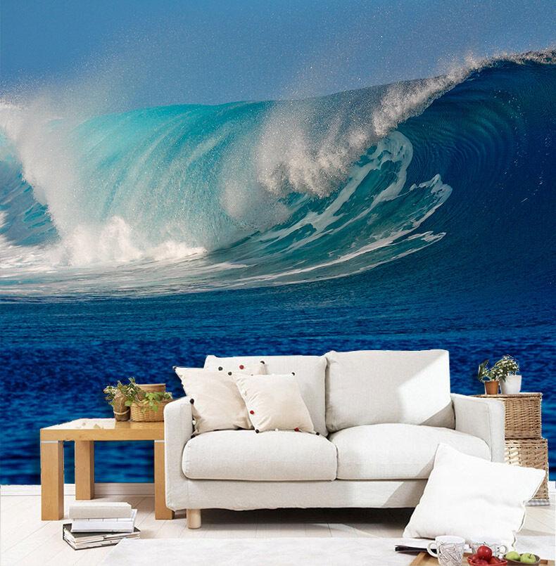 3D Sea Huge Wave 622 Wall Paper Wall Print Decal Wall Deco Wall Indoor Murals
