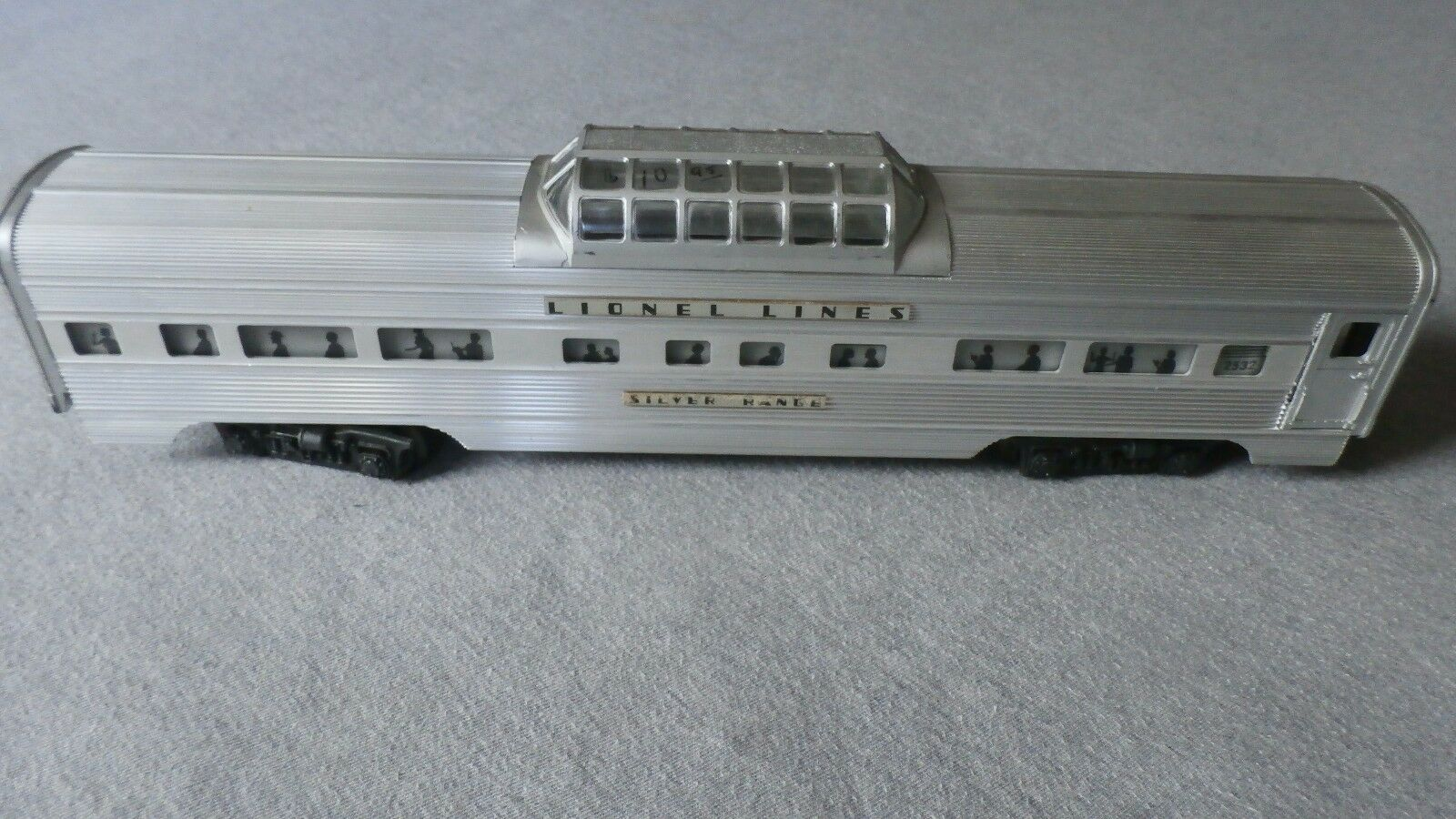 Lionel O O O Scale No. 2532 Illuminated Astra-Dome auto In Original scatola  TSK 42254b
