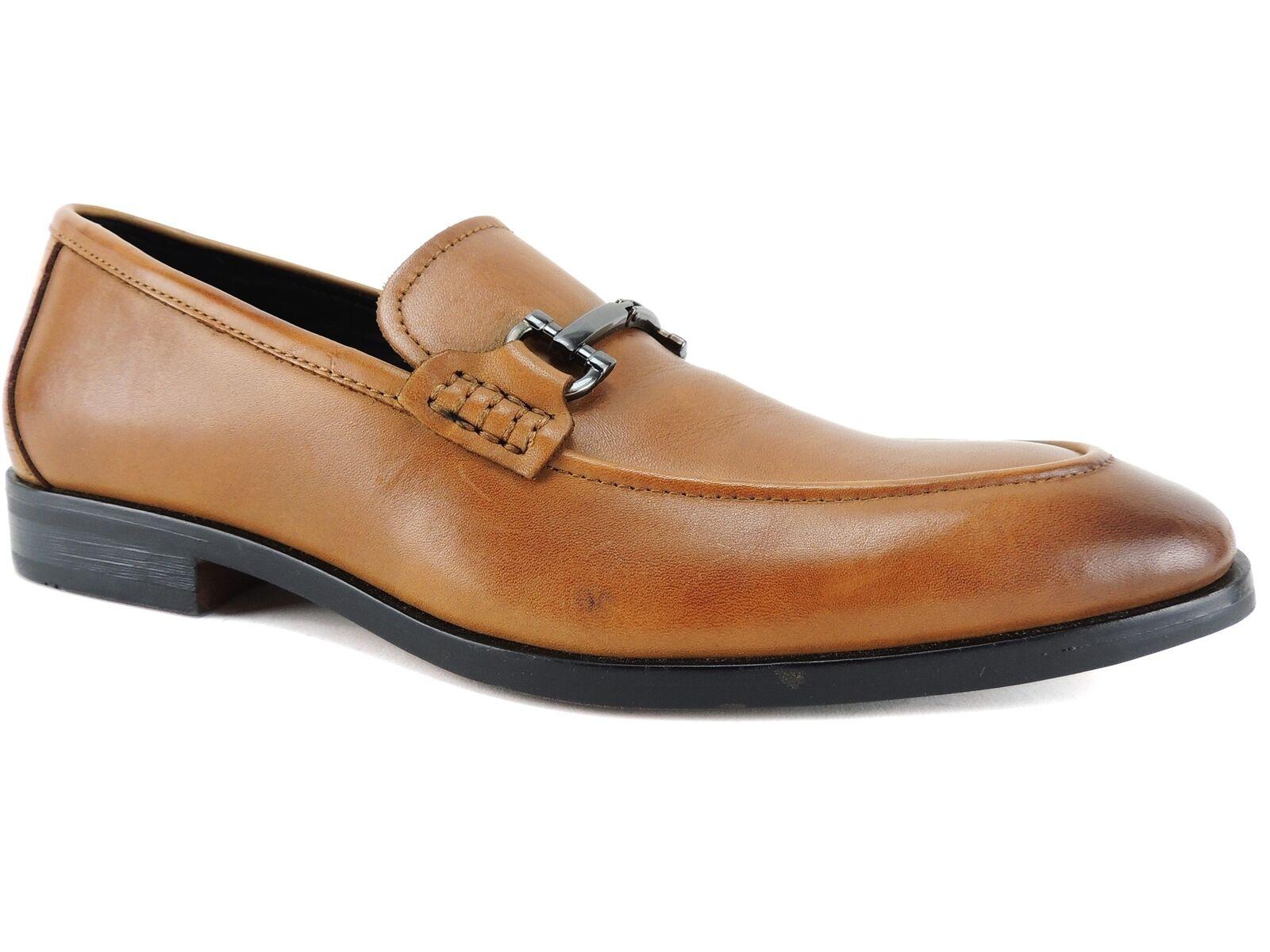 consegna veloce e spedizione gratuita per tutti gli ordini Alfani Uomo Chandler Moc-Toe Loafers Tan Leather Dimensione 8.5 M M M  lo stile classico