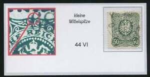 D-Reich-Nr-44-VI-gestempelt-PLATTENFEHLER-59452