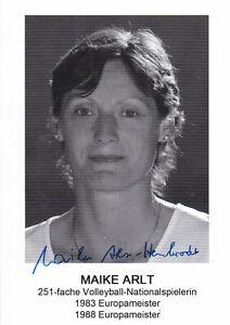 Maike-ARLT-DDR-Gold-EM-1983-Volleyball-Original-Autogramm