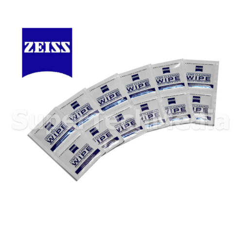 50 pcs Zeiss Pre-Moistened Lens Glasses Camera Cleaning Cloths Wipes