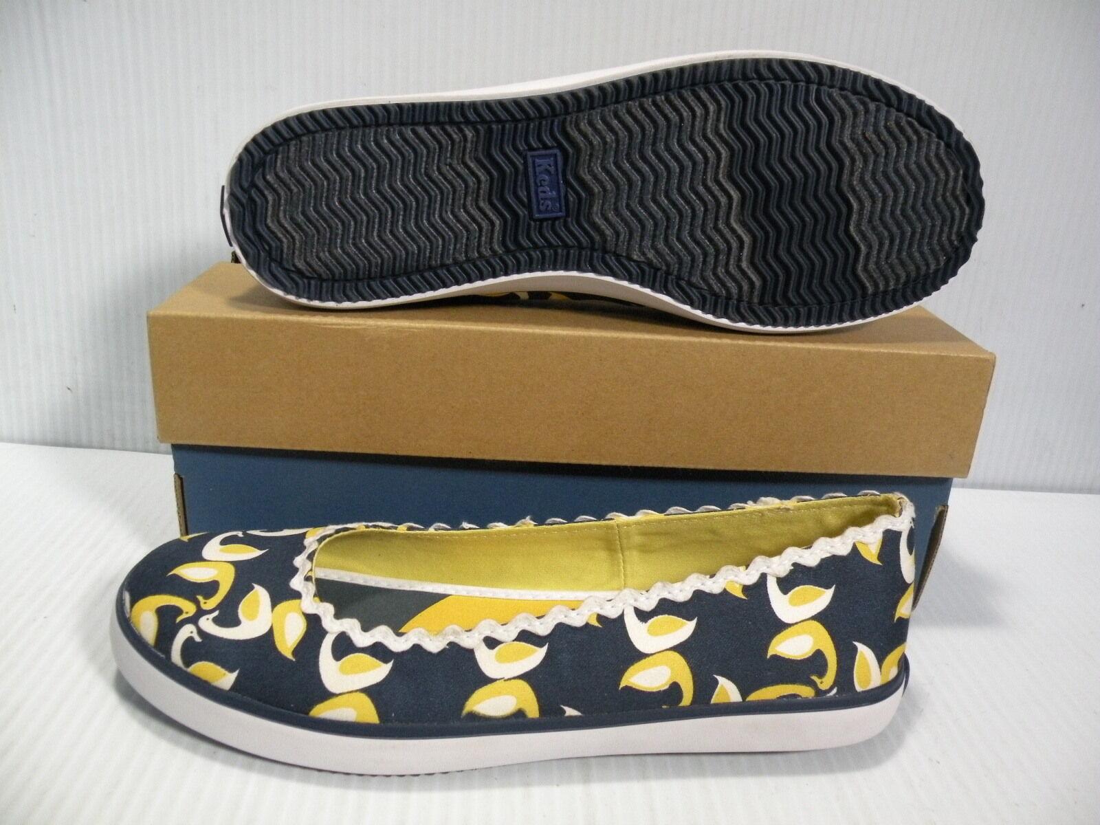 KEDS ELEANOR LOW WOMEN 7.5 Schuhe Blau DUCK WF19846 SIZE 7.5 WOMEN NEW 9dc9c6