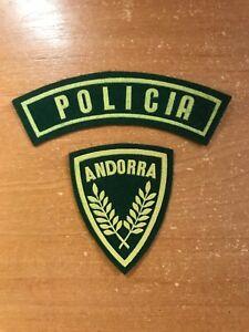 Andorra-Parche-Policia-Policia-Nacional-Original