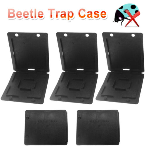 5x Bee keeping Beehive Hive Beetle Trap Case Cover Nest CD Type Plastic US SHIP