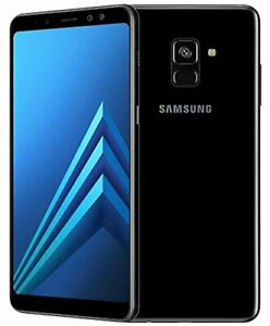 Samsung-Galaxy-A8-A530W-2018-32GB-LTE-T-mobile-AT-amp-T-Unlocked-Black-C-stock
