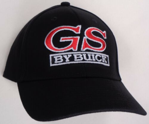 Hat Cap Licensed GM Buick Gran Sport GS Black HR 141