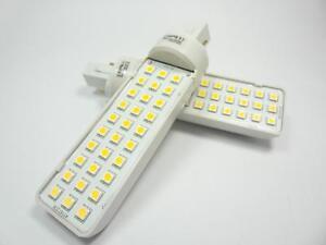 G24 LED Leuchtmittel PL-C 2-Pin-LEDs 30x 3-Chip SMD - 580Lm(= 50W) warm-white