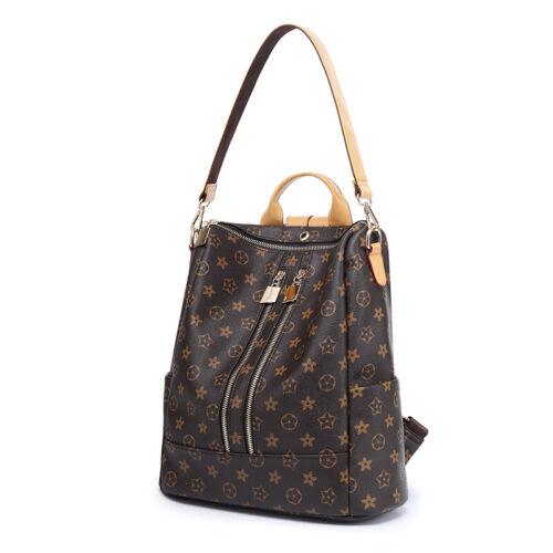 Women Backpack Schoolbag Girls Satchel Leather Rucksack Travel Handbags Fashion