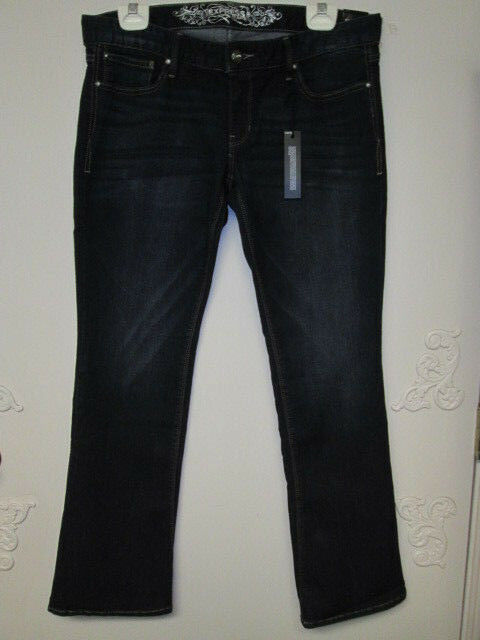 NWT EXPRESS Jeans ZELDA Ladies SIZE 10 S Barely Boot Slim Fit Ultra Low Rise