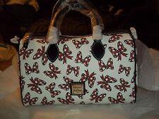 Disney Dooney & Bourke Minnie Mouse BOWS Satchel Barrow Bag NWT