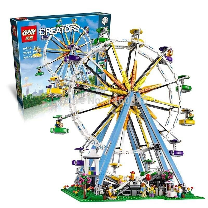 The Ferris Wheel Building Block Full Set - 2518pcs