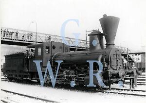 Baryt Dampflok Foto - SB Serie 29 Lok.Nr. 858