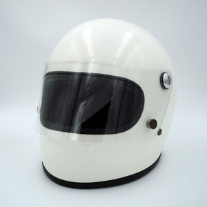 Full Face Motorcycle Helmet Vintage Custom Dirt Bike Helmet For Sale Fiberglass Ebay