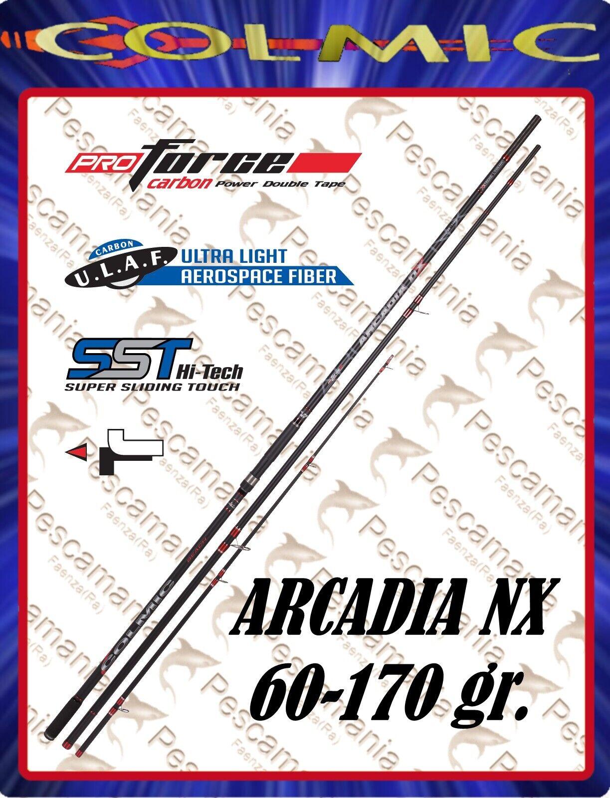 Angelrute Colmic Arcadia NX beach ledgering Pontonchutz 60-170 gr gr gr 4,40-4,70mt 697f62