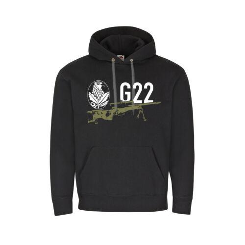 G22 FUSIL SNIPER TIREUR Unité insigne Sniper Hoodie #27824