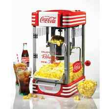Popcorn Kettle Maker Machine, Popper, Coca-Cola Nostalgia Vintage Theater, Large