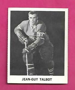 RARE-1965-66-COCA-COLA-CANADIENS-JEAN-GUY-TALBOT-CARD-INV-C9706