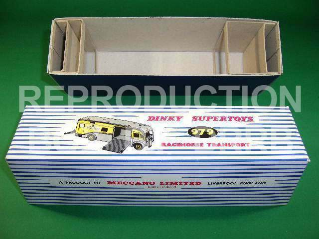 Dinky Racehorse Transporter (Newmarket) - Reproduction Box by DRRB