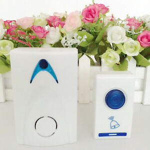 LED-Wireless-Chime-Door-Bell-Doorbell-amp-Wireles-Remote-control-32-Tune-Songs-oe
