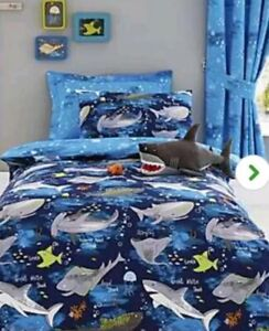 Rocky Red Duvet Quilt Cover Reversible Animal Boys Bedding Set ~ DOUBLE or KING