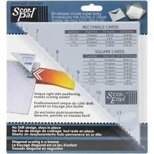 Scor-Pal SP406 Scor-envi Diagonal and Envelope Template 401786