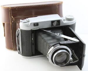 ENSIGN-820-Autorange-120-Roll-film-camera-w-105mm-Xpres-f3-8-APO-lens-case