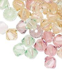 48 Crystal Passions Swarovski Crystals Tenderness Mix 4mm Xilion ...
