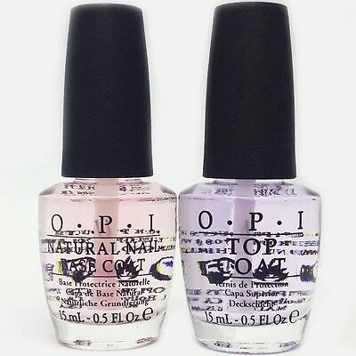 OPI Natural Base Coat & Top Coat Duo