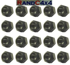 RRD500010 Land Rover Defender /& Discovery Steel Wheel Nuts of 20
