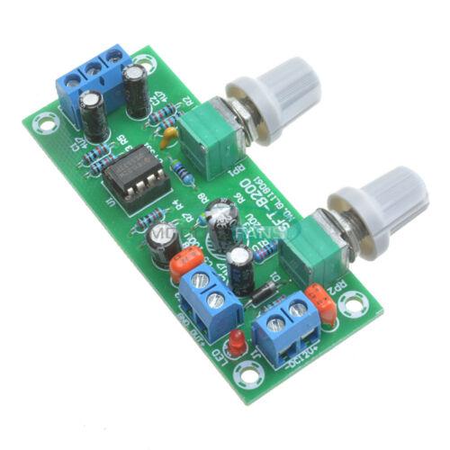 12V 24V Low-pass Filter NE5532 Subwoofer Process Pre-Amplifier Preamp AMP Board