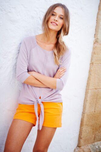 E9 Ex Boden Womens Silk Linen Cardigan Jumper Top Three Colours Size 6-22