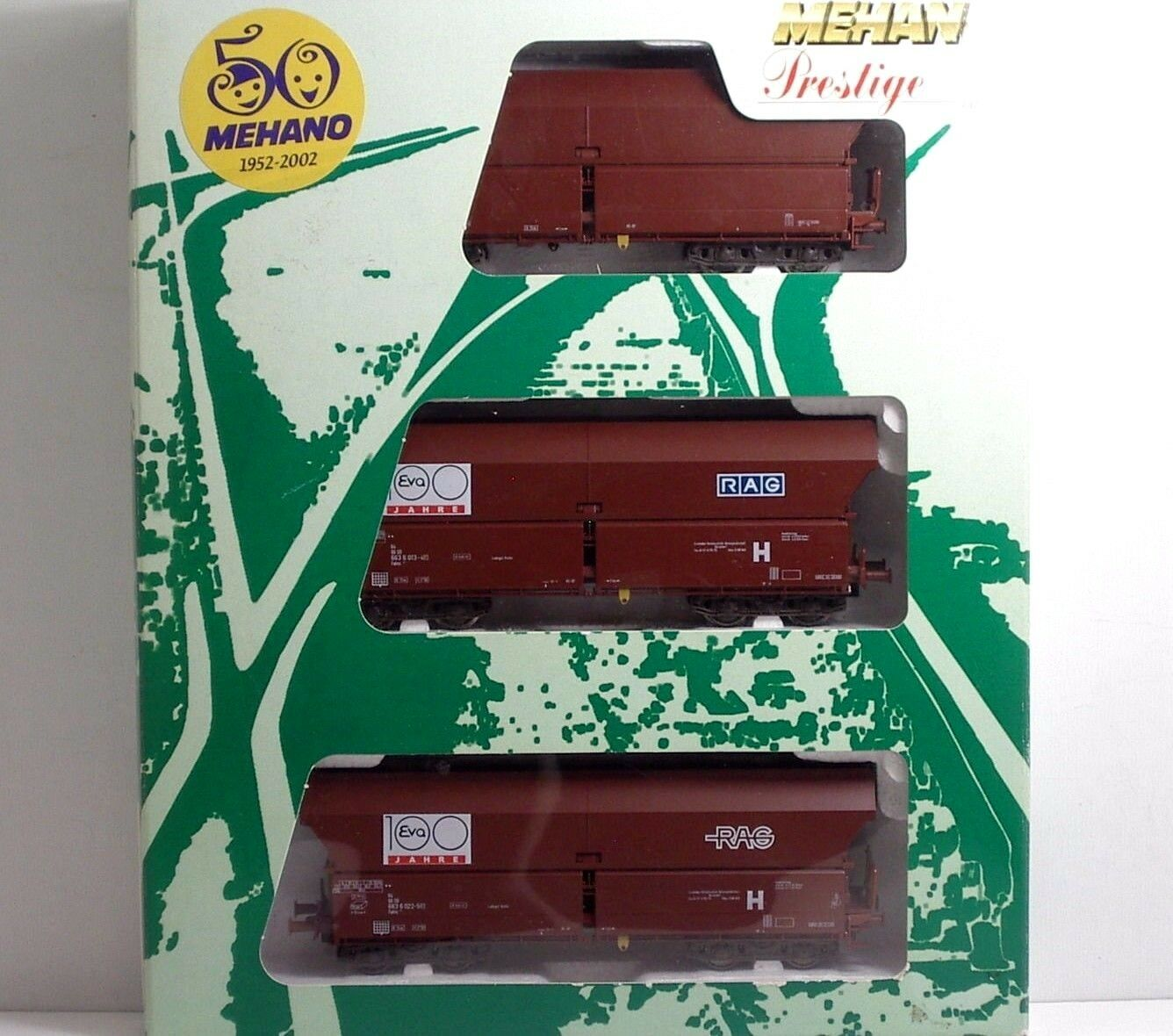 ofrecemos varias marcas famosas Mehano Mehano Mehano T615 DB SET Selbstentladewagen 3Pz  EVA   RAG  Ep V  alta calidad