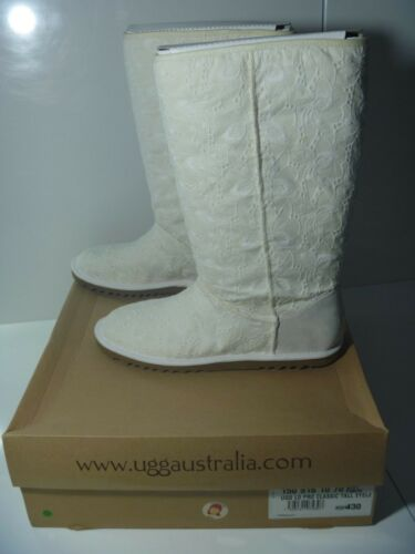 Bianco 5 Ugg Schuh Da ricevuta alti Box New Lo Uk Pro con 8 100 Stivali originali wHaYqPwx