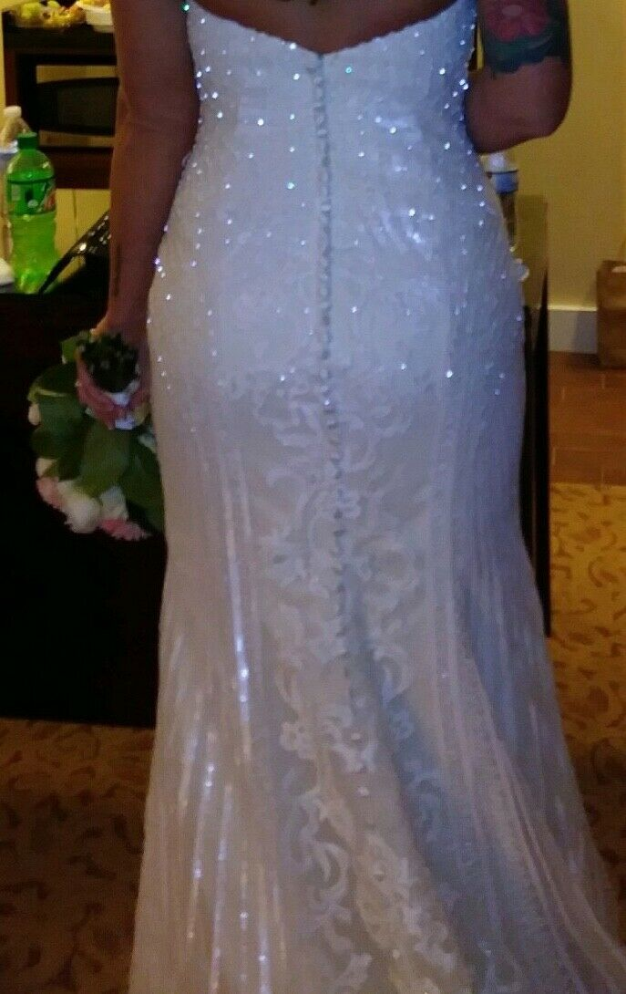 """Kitty Chen Couture """"Alvina"""" Wedding Gown  - image 2"""