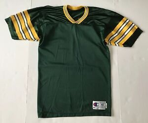 new product 17084 d4380 Details about VINTAGE Champion Green Bay Packers Blank Football Jersey RARE  Customize