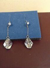 Crystal Aura Drop Earrings Crystallized with Swarovski, Avon