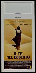 Plakat Die Te' IN Desert Bernardo Bertolucci Debra Winger Kino Film L38