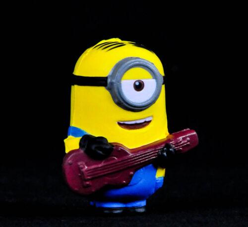 Minions, Anti-Stress Minion mit Gitarre, Knautsch Minion OVP