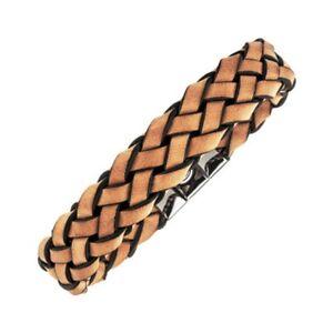 Magnetix - Armband Leder 4436 Cooler Look braun (Gr.M-XXL) 14mm Magnetschmuck
