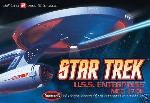 2010 POLAR LIGHTS 803 1 1000 Star Trek USS Enterprise NCC 1701 3in1 new