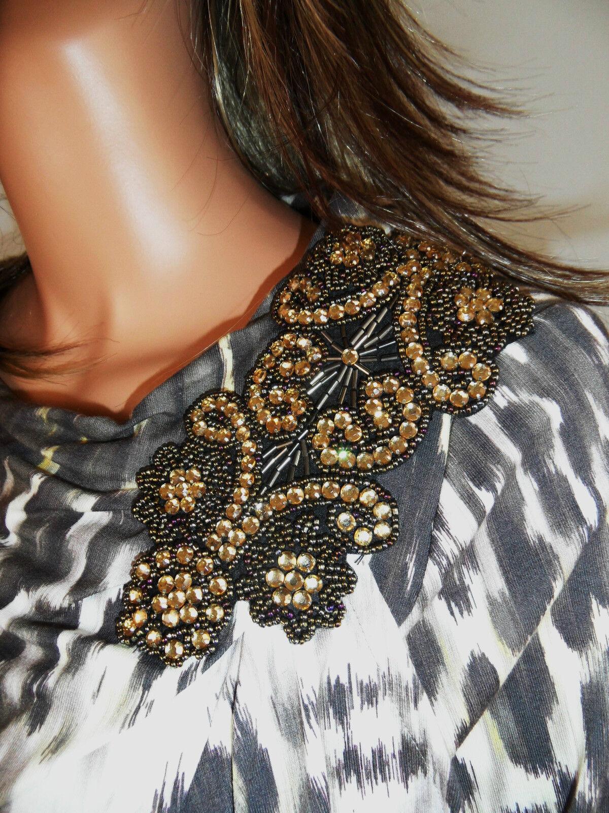 atmosfera  elegante abito  gioielli con dettaglio & MARCCAIN cintura  tg. 36