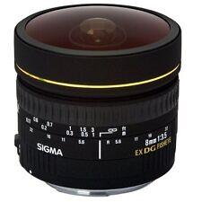 Sigma 8mm f3.5 Circular Fisheye EX DG Lens For Canon