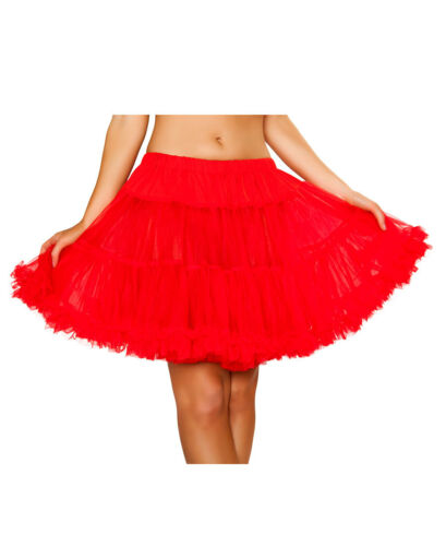New Roma Costume 1400 Double Layer Ruffle Petticoat Skirt