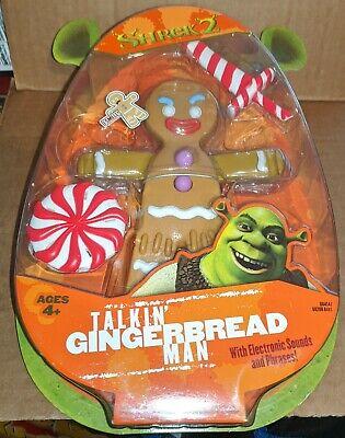 Shrek 2 Talking Gingerbread Man Action Figure 76930684146 Ebay