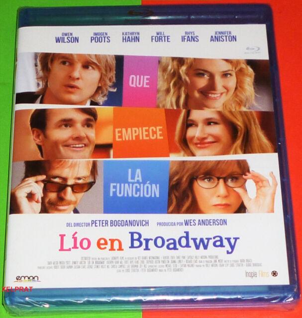 LIO EN BROADWAY / SHE´S FUNNY THAT WAY Bluray area B - English Español - Precint