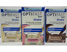 OPTIFAST 800 READY-TO-DRINK SHAKES -1 CASE - CHOCOLATE - 27 SERVINGS - FRESH/NEW